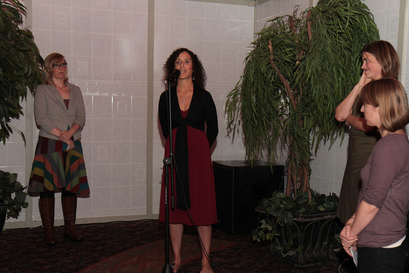 Ana speaking at SY 2011 Annual Benefit - Seattle